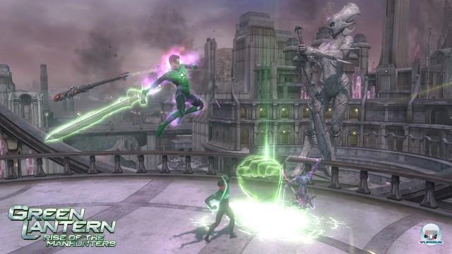 Screenshot - Green Lantern: Rise of the Manhunters (360) 2225397