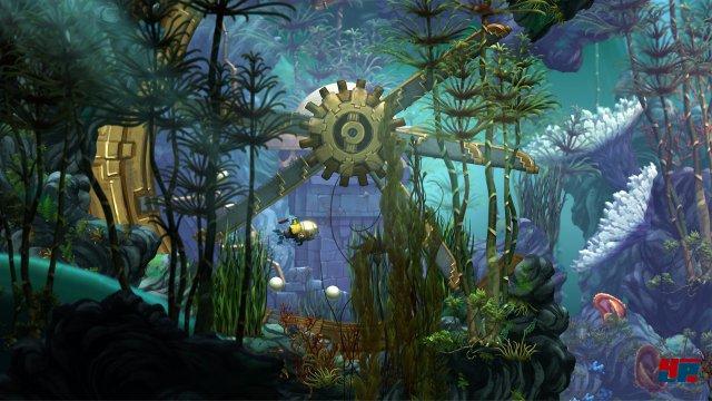 Marryn erkundet eine wunderschöne, aber auch gefährliche Unterwasserwelt.