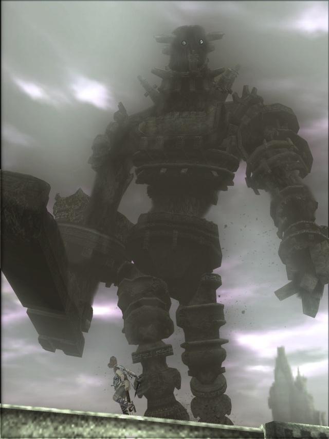 Shadow of the Colossus <br><br>  Genau wie ICO stammt auch Shadow of the Colossus von Fumito Ueda - ein Entwickler, bei dem die künstlerischen Aspekte auch bei Videospielen ganz oben auf der Liste stehen. War es bei ICO vor allem die phänomenale Spielwelt, sind es hier die gigantischen Kreaturen, mit denen der Japaner Maßstäbe setzt. Mit seinem hervorragenden Gegner- und Spieldesign sowie der melancholischen Atmosphäre gehört dieses Werk zu den ganz Großen in der Videospielgeschichte. 2088223