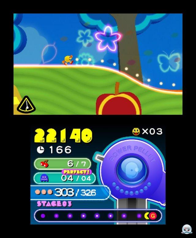 Screenshot - Pac-Man & Galaga Dimensions (3DS) 2257342