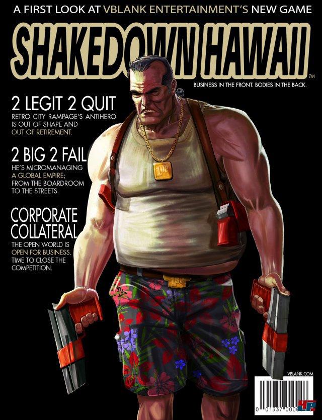 Screenshot - Shakedown Hawaii (3DS)
