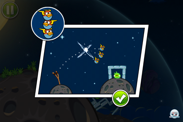 Screenshot - Angry Birds Space (iPhone) 2333627