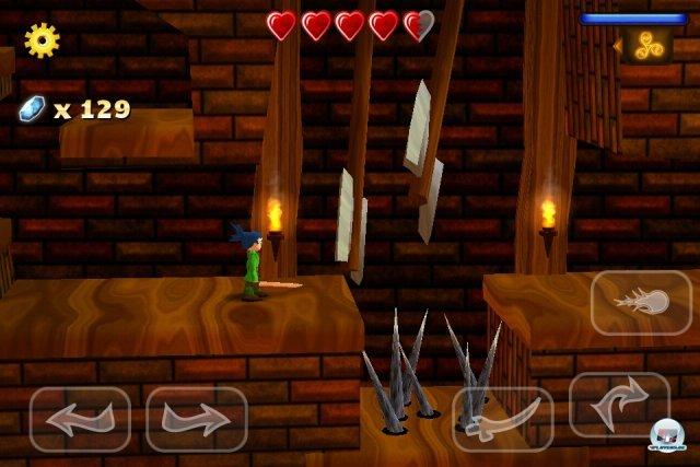 Nicht nur in den düsteren Dungeons lauern viele Gefahren - Swordigo ist zum Teil sehr anspruchsvoll!