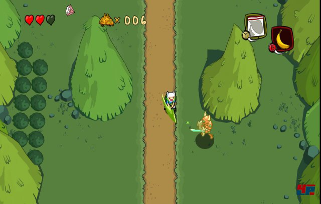 Screenshot - Adventure Time: Secret of the Nameless Kingdom (360) 92490360