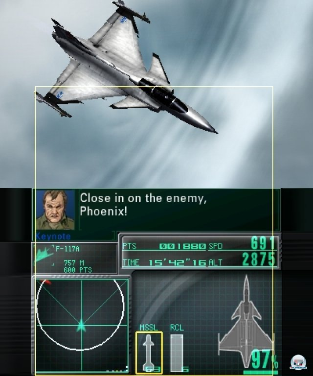 Screenshot - Ace Combat: Assault Horizon Legacy (3DS)