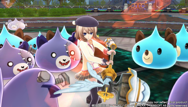 Screenshot - MegaTagmension Blanc   Neptune VS Zombies (PS_Vita) 92525104