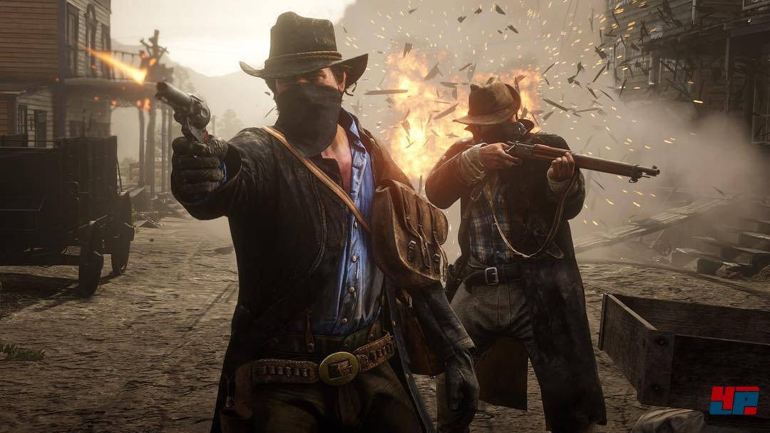 Red Dead Redemption 2 seit acht Jahren in Arbeit, neue Bilder