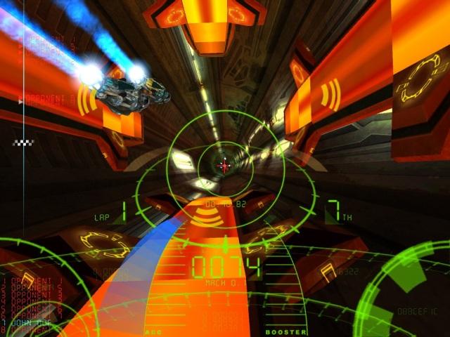 Ballistics  <br><br>  Schnell, schneller, Ballistics! Das futuristische Rennspiel von GRIN ließ bei der Veröffentlichung im Jahr 2001 selbst WipEout wie eine lahme Ente erscheinen. Die Schweden boten einen psychedelischen Geschwindigkeitsrausch par excellence, bei dem teilweise aber auch die schnellsten Reflexe nicht mehr viel ausrichten konnten.    2090158