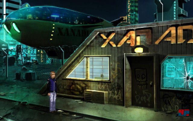 Screenshot - Technobabylon (PC)