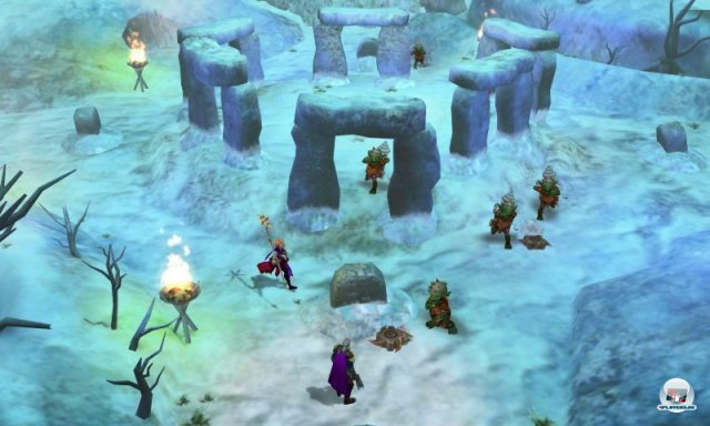 Screenshot - Heroes of Ruin (3DS)