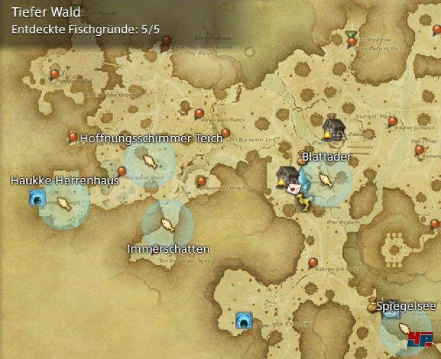Final Fantasy XIV Online: A Realm Reborn - Fischgründe: Finsterwald, Tiefer Wald