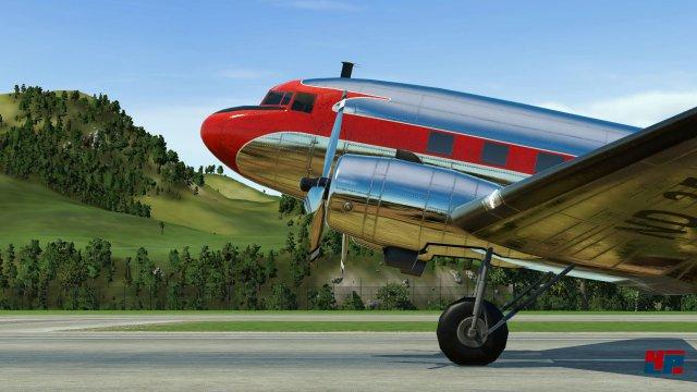 Auch Schiffe und Flugzeuge können in Transport Fever verwendet werden.