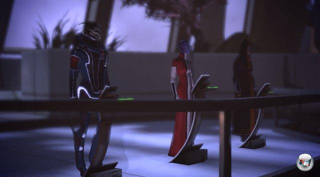 <br><br>Hier wird Shepard vor die Entscheidung gestellt, ob er den Rat sterben lässt oder ihn rettet. 2051278