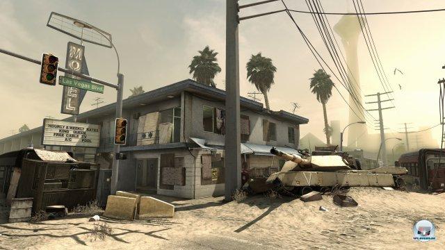Die neue Grafikengine rendert zwar sehenswerte Kulissen, doch Battlefield 4 ist den Ghosts weit voraus.