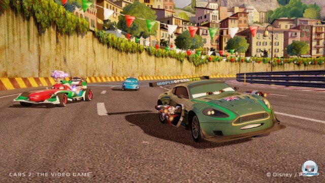 Screenshot - Cars 2: Das Videospiel (360) 2230999