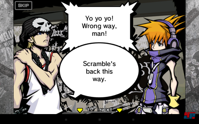 Screenshot - The World Ends With You (Android)