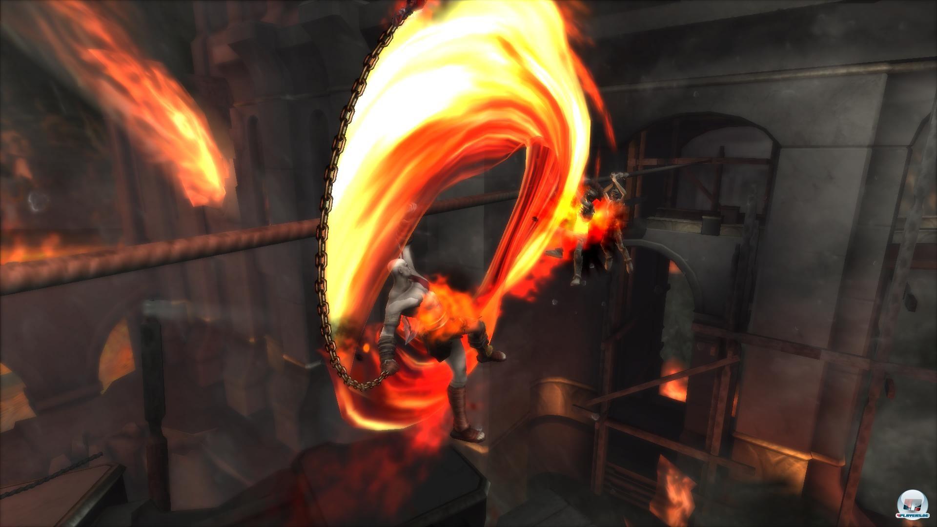 Auch in HD lässt Kratos die Fetzen fliegen!