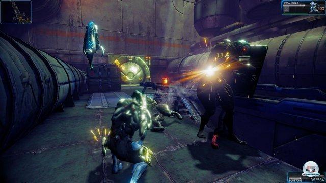 Gerade in Kämpfen mit vielen Gegner neigt die PS4 zu heftigen Rucklel-Einlagen.
