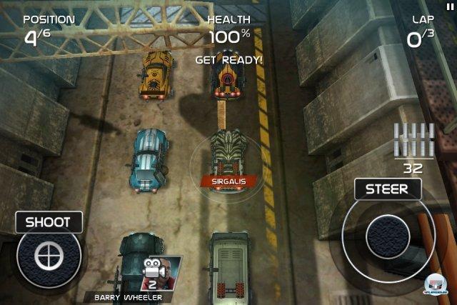 Screenshot - Death Rally (iPad)