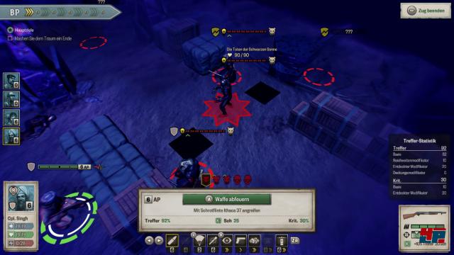 Screenshot - Achtung! Cthulhu Tactics (Switch) 92581539