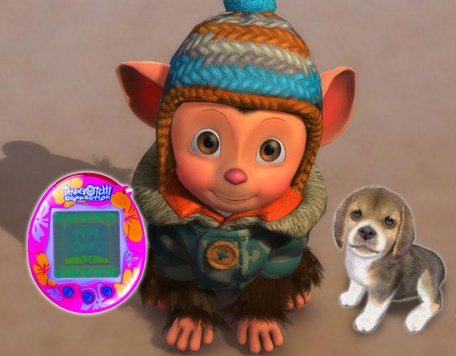 Eyepet / Tamagotchi / Nintendogs & Co <br><br> Die Tierheime sind voll - und was bringen die Eltern ihren Kindern mit? Anstatt einer süßen Katze oder einem liebenswerten Hund ein neues Zuhause zu geben, kaufen sie so einen Quatsch wie Nintendogs, Eyepet, Kinectimals oder anderes Tamagotchi-Zeugs, bei denen man virtuelle Wesen betüddelt. So lernen weder Kinder noch Erwachsene einen artgerechten Umgang mit Tieren. Im Gegenteil: Man soll schon Jugendliche dabei beobachtet haben, wie sie versucht haben, einen Hund mit dem Stylus zu streicheln... 2192552
