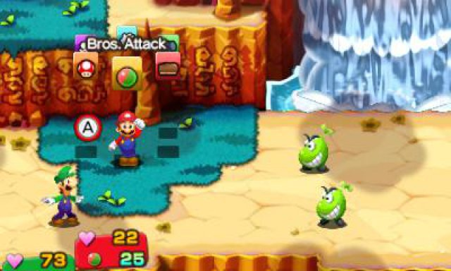 Screenshot - Mario & Luigi: Superstar Saga   Bowsers Schergen (3DS)