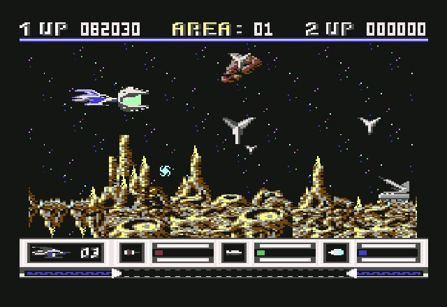 Katakis / Denaris<br><br>Auf, auf in die Vergangenheit: 1988 programmierte Manfred Trenz, der später mit Turrican weiteren Ruhm erlangen sollte, einen ziemlich dreisten R-Type-Klon - genau genommen so dreist, dass der damalige R-Type-Publisher Activision schnell dafür sorgte, dass das Spiel vom Markt verschwand. Und kurz darauf unter dem Namen Denaris und mit veränderten Levels wieder auftauchte. Witzigerweise war die von Factor 5 entwickelte Amiga-Version so gut, dass Activision die Jungs daraufhin mit der Umsetzung von R-Type beauftragte. So einfach schließt sich ein weiterer Kreis. 1714983