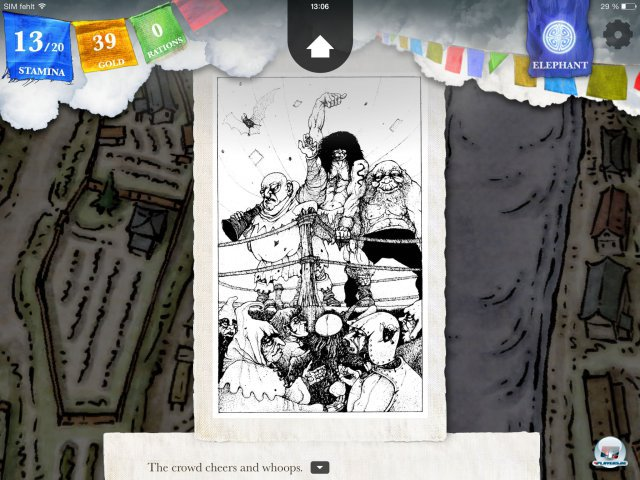 Screenshot - Sorcery! - Teil 2 (iPad)