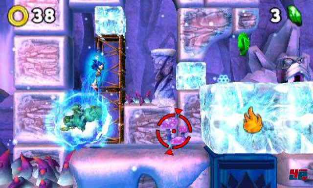 Screenshot - Sonic Boom: Feuer & Eis (3DS)