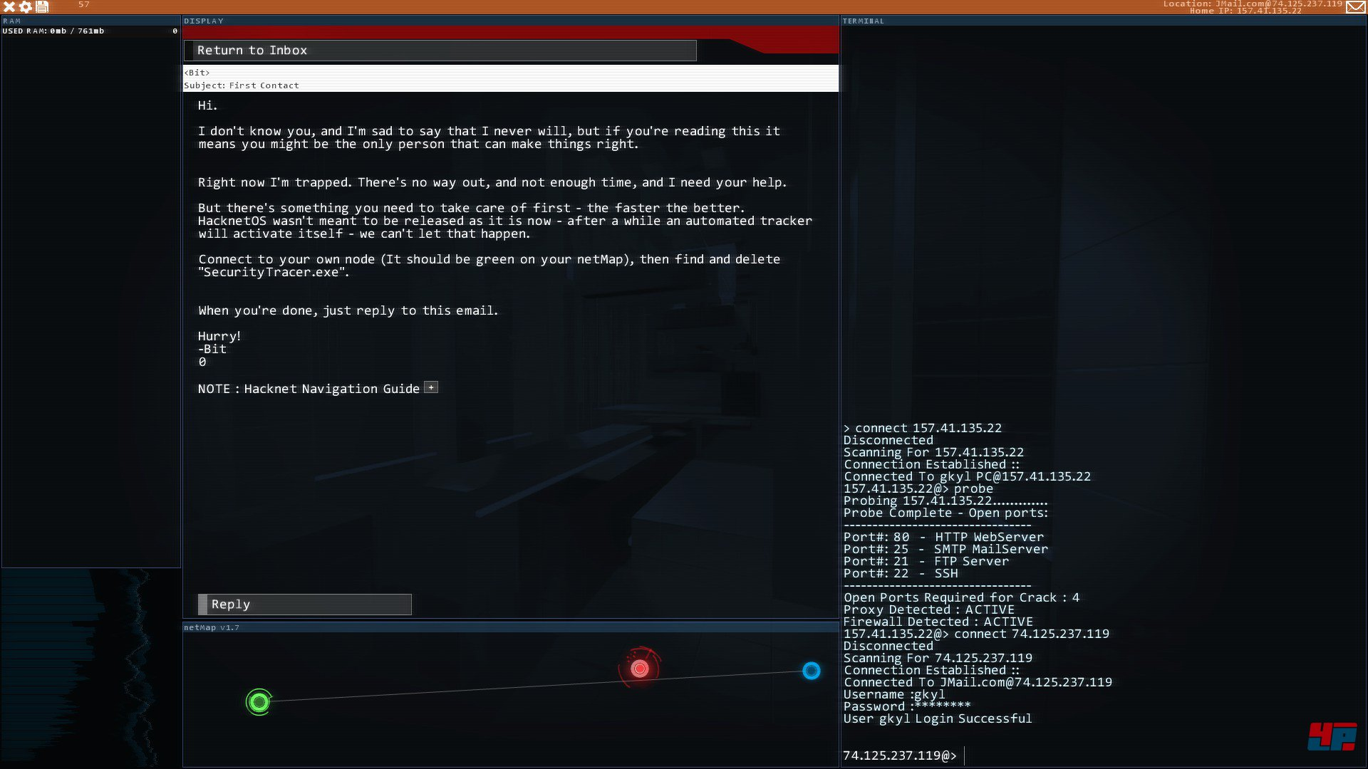 Hackers Spiel Tipps