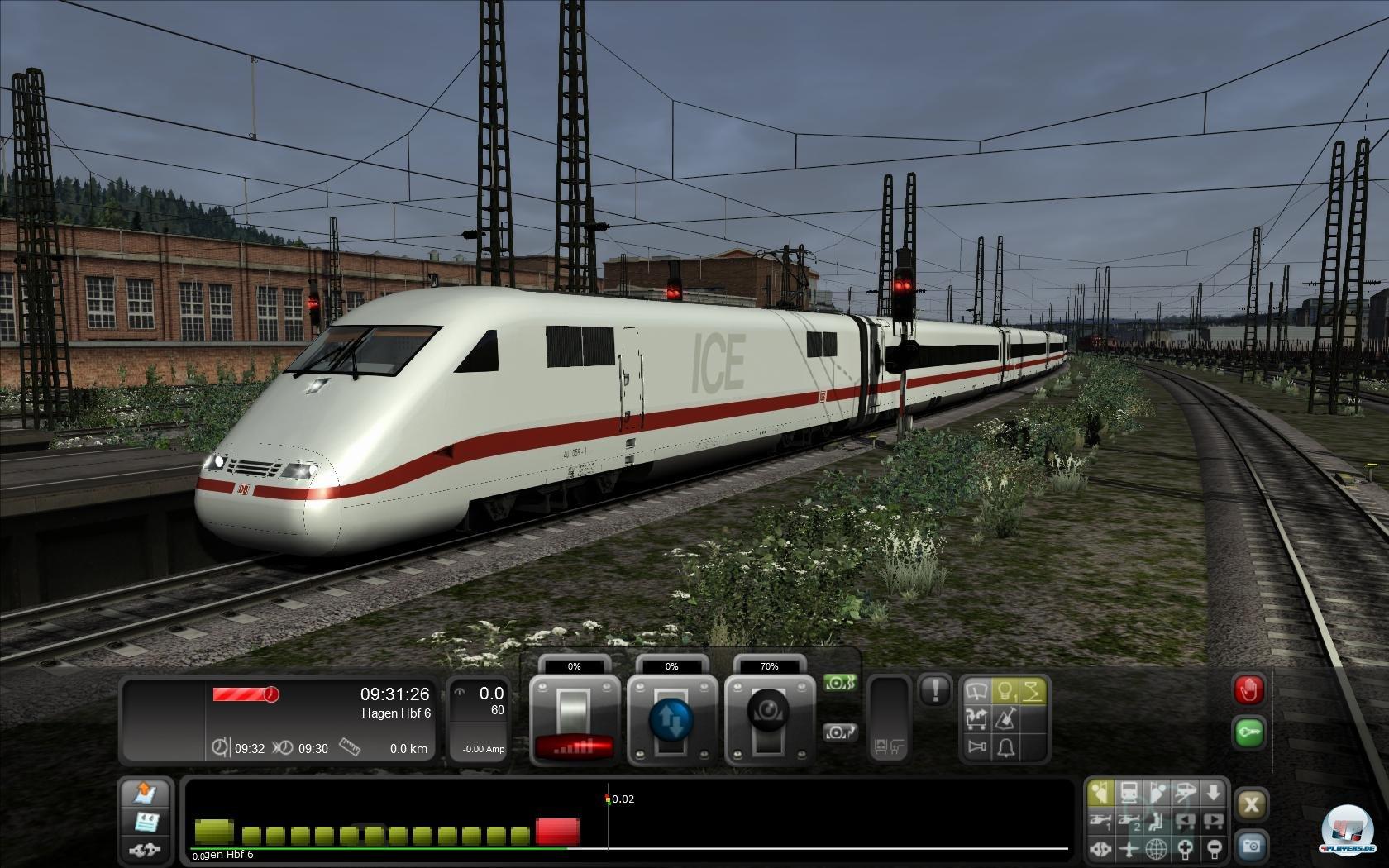 Train simulator 2012 scenario