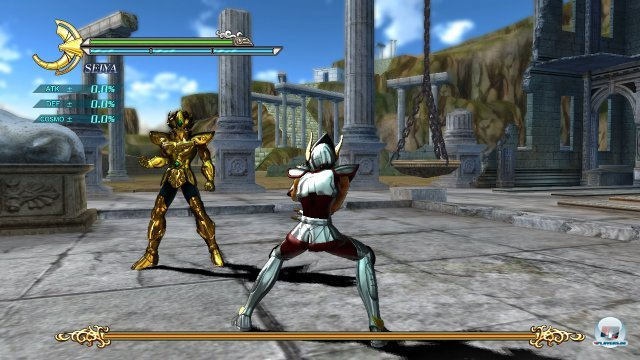 Screenshot - Saint Seiya: Sanctuary Battle (PlayStation3) 2265447