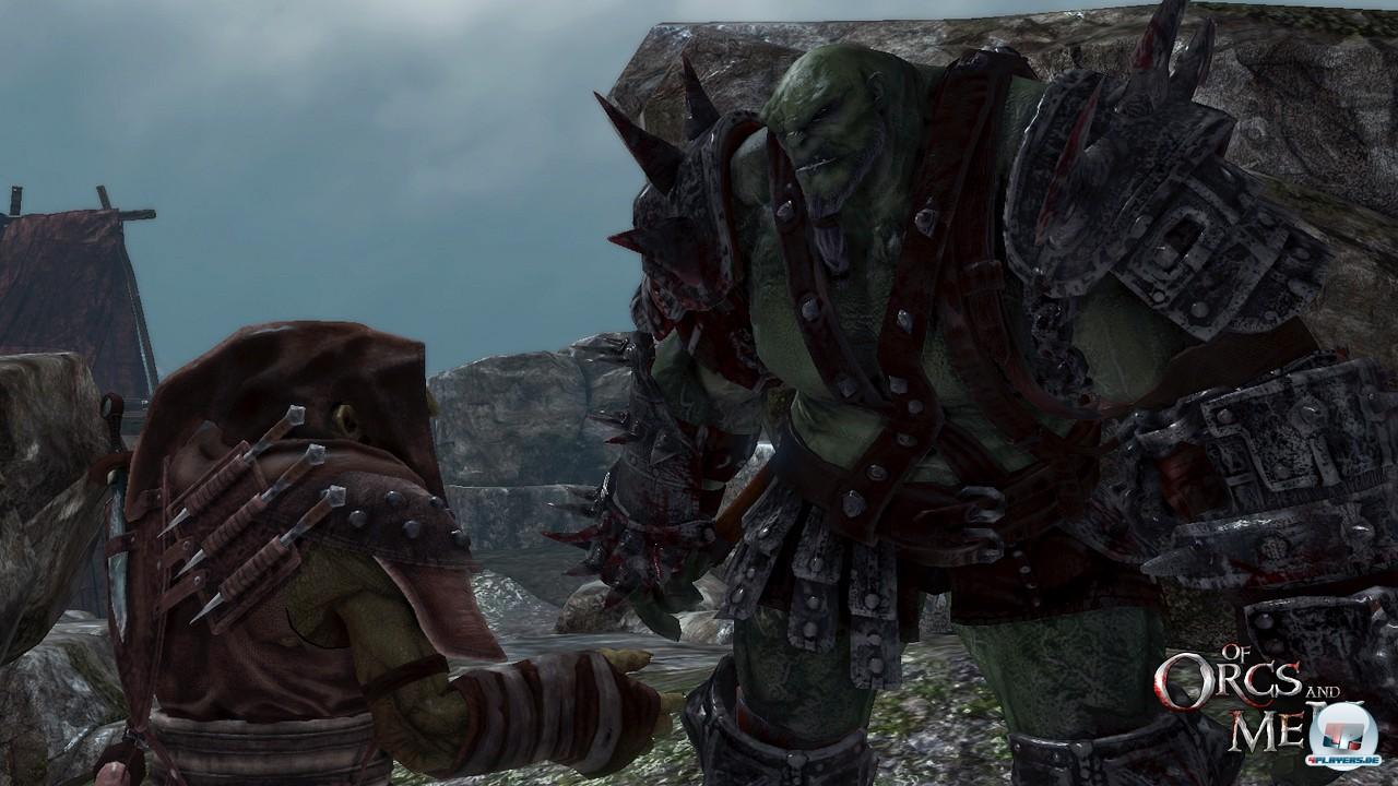 Während der Ork fürs grobe zuständig ist, setzt der Goblin auf Tarnung und Hinterhalt.