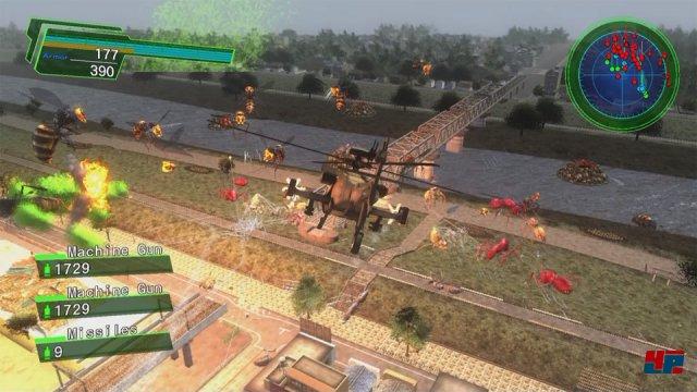 Screenshot - Earth Defense Force 4.1: The Shadow of New Despair (PlayStation4)