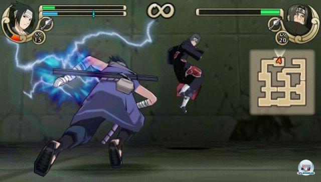 Screenshot - Naruto Shippuden: Ultimate Ninja Impact (PSP) 2260042