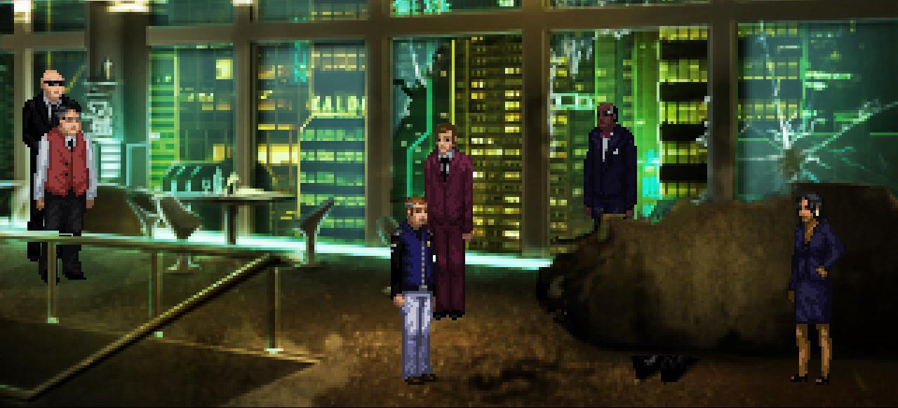 Technobabylon (Adventure) von Wadjet Eye Games