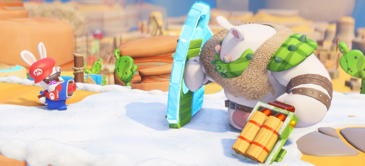 Mario + Rabbids Kingdom Battle (Strategie) von Ubisoft