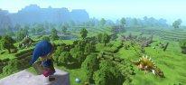 Kl�tzchen-Abenteuer im Minercraft-Stil f�r PS4