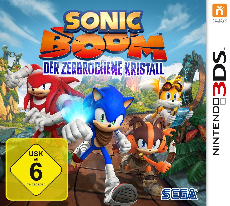 Alle Infos zu Sonic Boom: Der Zerbrochene Kristall (3DS)