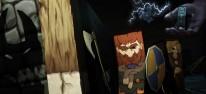 Popup Dungeon: Entwickler zeigen aktuelle Spielszenen aus ihrem Taktik-Rollenspiel im Papierfalt-Look