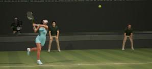 Große Ambitionen, kleines Tennis