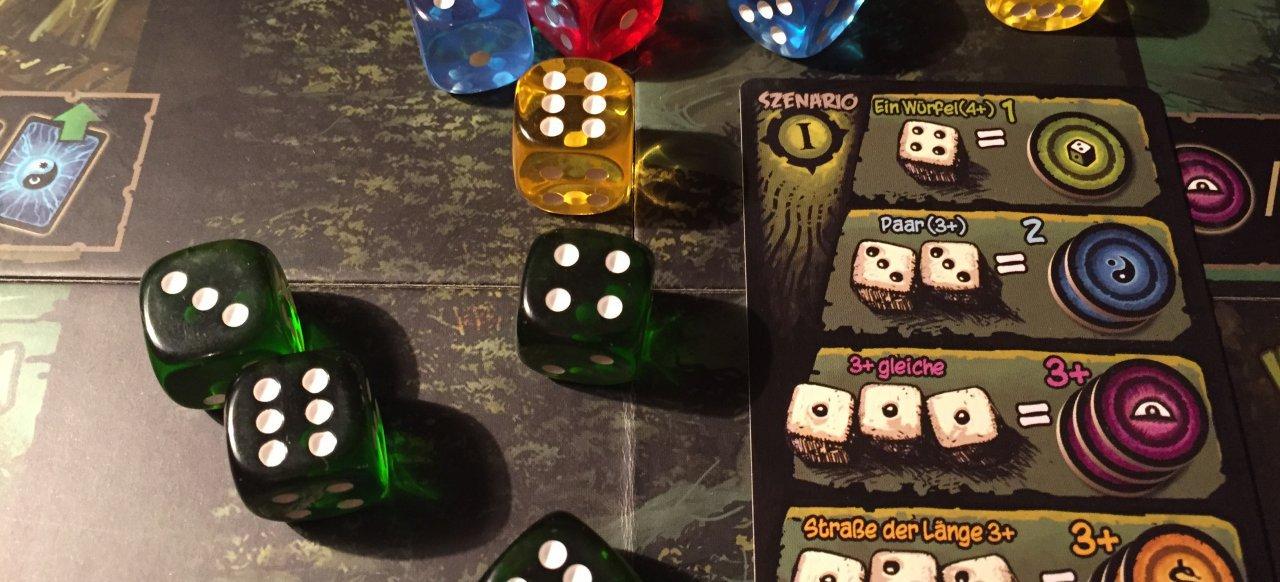 Alte Dunkle Dinge (Brettspiel) von Feuerland Spiele