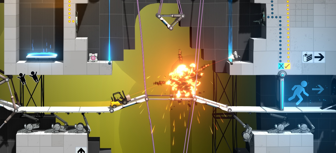 Bridge Constructor Portal (Simulation) von Headup Games
