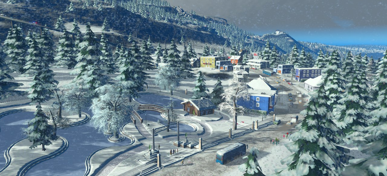 Cities: Skylines - Snowfall (Strategie) von Paradox