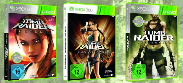 Tomb Raider Collection (Action) von Square Enix