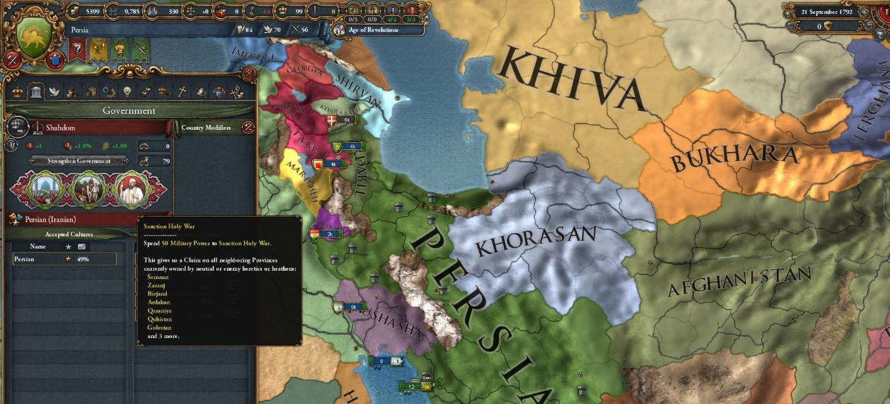 Europa Universalis 4: Cradle of Civilization (Strategie) von Paradox Interactive