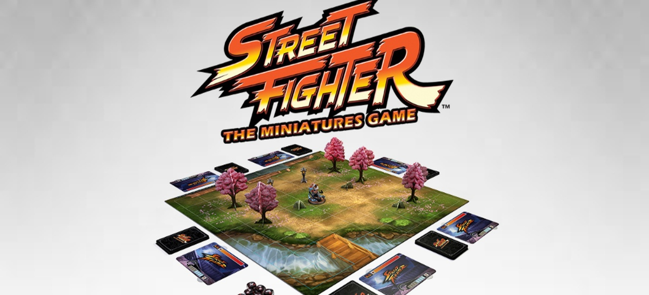 Street Fighter: The Miniatures Game (Brettspiel) von Jasco Games und Angry Joe