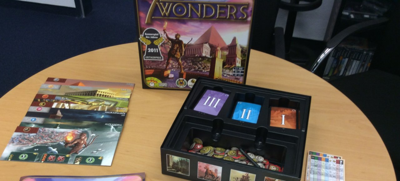 7 Wonders (Brettspiel) von Asmodee