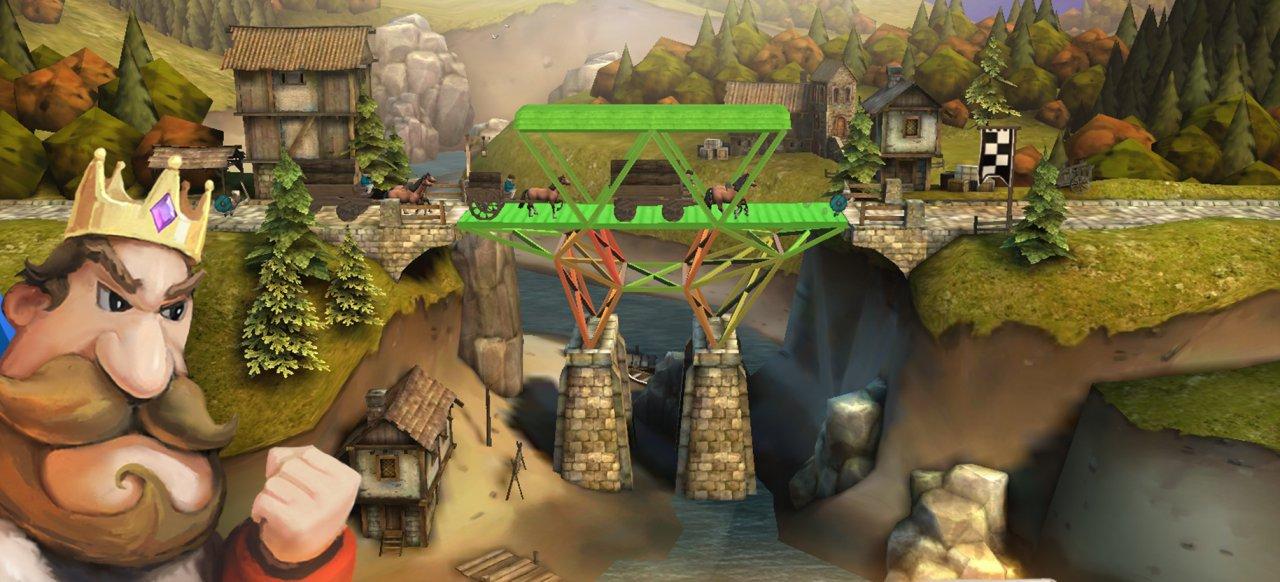 Bridge Constructor Mittelalter (Geschicklichkeit) von Headup Games