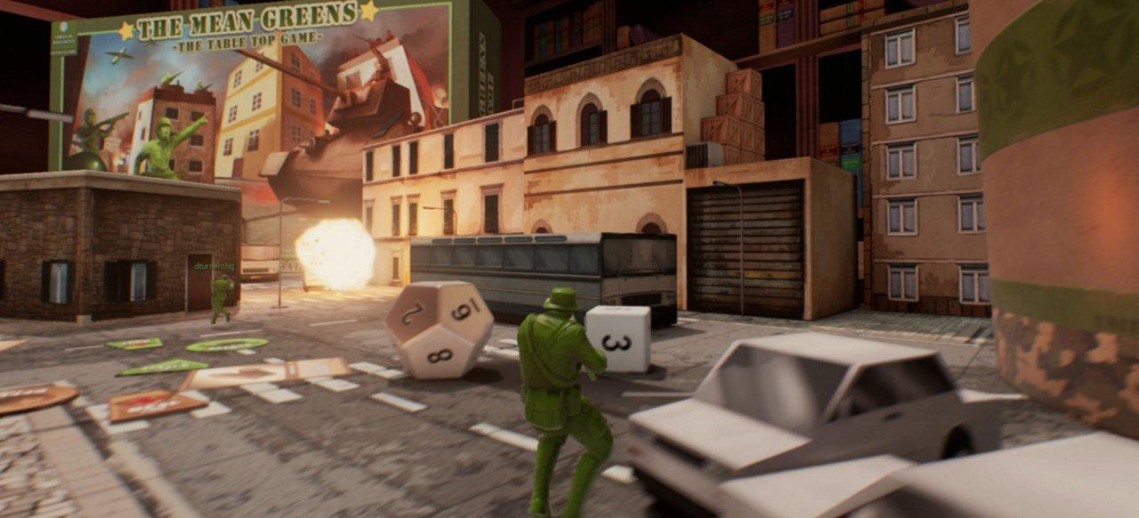 The Mean Greens: Plastic Warfare (Shooter) von Virtual Basement